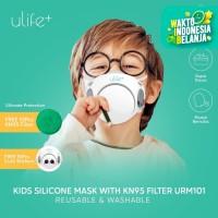 Ulife+ Masker KN95 Anak Bahan Silikon Reusable Washable - URM101