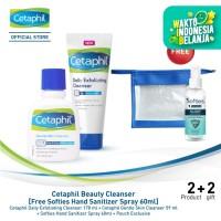 Cetaphil Beauty Cleanser [Free Softies Hand Sanitizer Spray 60ml]