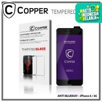 Iphone 6 / 6S - COPPER Tempered Glass ANTI-BLUERAY (Full Glue)