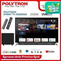 POLYTRON SMART ANDROID TV 4K UHD PLD 50BUA8859 W 50INCHI - RESMI