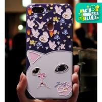 Soft Case Vivo Y53/Y55/Y69/Y71/Y85 BIRD CAT CASE