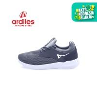 Ardiles Men Hamura Sepatu Running - Abu Abu