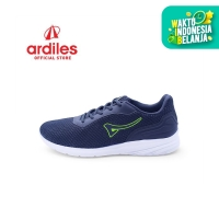 Ardiles Men Aragats Sepatu Running - Abu Hijau