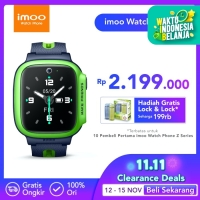 imoo Watch Phone Z2 - HD Video Call - APPLE GREEN