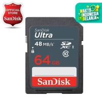 SanDisk Ultra SDHC Card 48MB/s class 10 64GB
