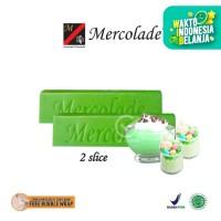 Mercolade Coklat Batang / Compound Green Leaf Melon [2 slice]