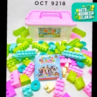 Mainan Edukasi Blok Susun Container - Building Blocks OCT9218