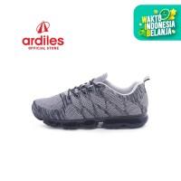 Ardiles Men Max Run Sepatu Running - Abu Abu