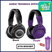 Audio Technica ATH-M50XBT Wireless Over Ear Headphone ATH M50X BT - Hitam