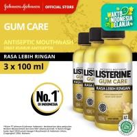 (Dapat 3) LISTERINE® Gum Care Antiseptic Mouthwash / Obat Kumur 100ml