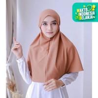 Bergo Tali Hijab Jilbab Kerudung Khimar Instan Tali Tanpa Pet