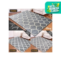 [Carpet Shop ID] Karpet Maroc Super Grey 100X150 - 13 GREY