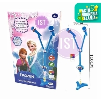 MAINAN MICROPHONE DOUBLE 2 TIANG FROZEN 8026A 8804A ANAK MP3