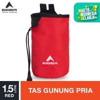 Eiger Chalk Bag Tripoint Modif 6294 - Red