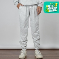 Jogger Pants Celana Panjang Training Sweatpants Basic Bigsize Unisex