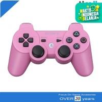 Stik Stick PS3 Wireless Original Ori Pabrik Warna Pink