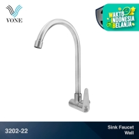 VONE 3202-22 Keran Kran Air Angsa Sink Cuci Piring Dapur Stainless