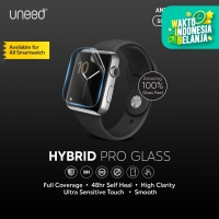 UNEED Hybrid Pro Anti Break Screen Protector Smartwatch Full Cover
