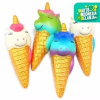 Squishy Licensed Unicorn Ice Cream 16cm SE236