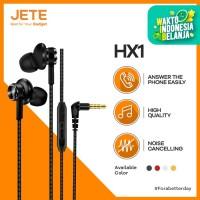 Handsfree / Headset / Earphone / EarPods JETE HX1 Premium Quality