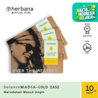 Herbana Balance Madia Cold Ease - 10 Kaplet (Bundling 3pc)