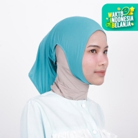 Zoya Inner Kerudung Ciput Hijab - Ciput Telinga Naya Tosca