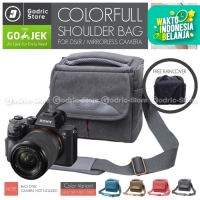 Tas KANVAS CANDY Sling Bag Case Kamera Mirrorless DSLR XA3 XA5 XA20 M3