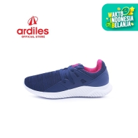 Ardiles Women Anyelir Sepatu Running - Biru Navy - Biru Navy, 39