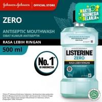 LISTERINE® ZERO Mouthwash / Obat Kumur 500ml