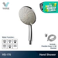 VONE HS-170 Shower Set Handshower Mandi Hand Multi Fungsi Air Paket