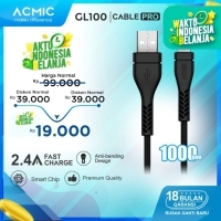 ACMIC GL100 Kabel Data Charger iPhone Lightning Fast Charging Cable