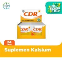 CDR Suplemen Kalsium Rasa Jeruk 12 x 2 Sachet