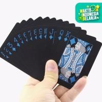 Set Kartu Remi Plastik PVC Anti Air Waterproof Poker Blackjack Card