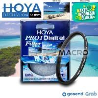 Filter UV HOYA Pro1 62mm lens canon nikon sony fuji samsung dll