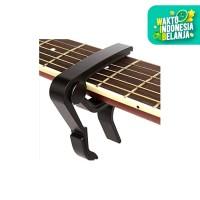 Guitar Capo Kapo Gitar Bass Akustik Elektrik Ukulele Aluminium Alloy