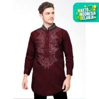 FortKlass Daud Baju Koko Pria Lengan Panjang Baju Muslim cowok