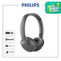 Philips TAUH202BK UpBeat Wireless On-Ear Headphones with Mic Black