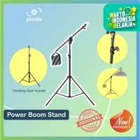 Power Boom Stand 2 in 1   Light Stand paket dengan Boom Arm