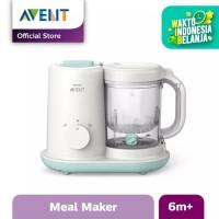 Philips Avent Pembuat Makanan Bayi Essential - Putih - SCF862/02