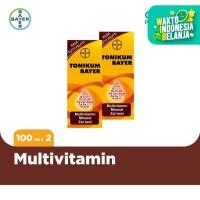Tonikum Multivitamin, Mineral, dan Zat Besi Rasa Tutti Frutti 100ml x2