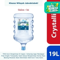 Crystalline Air Mineral 19L - Galon + Isi Ulang