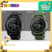 Jam Tangan Digital Pria Watch SKMEI Compass 1289 Water Resist 50M