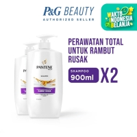 Pantene Shampoo Total Damage Care 900ml Paket Isi 2