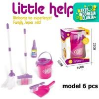 MB95 Mainan Sapu Anak 6pcs Alat Kebersihan Rumah Little Helper Toys