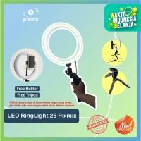 "LED RingLight 10"" bicolour + dimmer - ringlight vlogger + Tripod"