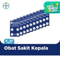 Saridon Obat Sakit Kepala 4 Tablet x 10 Unit