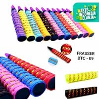 grip raket badminton frasser karet btc 09 diamond