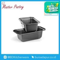 (2 PCS) Master Pastry Loaf Pan Small 7,5x3,5 / Loyang Kue