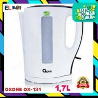 Eco electric kettle teko pemanas air listrik 1,7L OXONE OX-131 / OX131