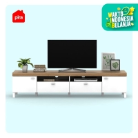 Bavarian Meja / Rak TV WHITE - YELLOW OAK (BENEDICT TV210)
